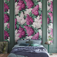 Cole and Son Lilac Grandiflora Wallpaper (2 roll set) - Botanicals