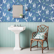 Cole and Son Wisteria Wallpaper - Botanicals