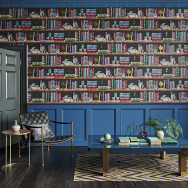 Cole and Son Libreria Wallpaper - Fornasetti Senza Tempo