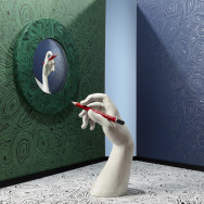 Cole and Son Malachite Wallpaper - Fornasetti