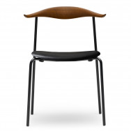 Carl Hansen CH88P Chair - Smoked Stained Oak - Leather Thor 301