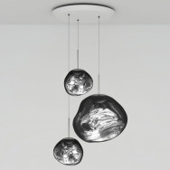Tom Dixon Melt LED Trio Round Pendant System