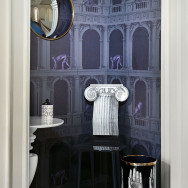 Cole and Son Procuratie e Scimmie Wallpaper - Fornasetti