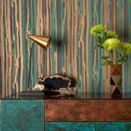 Cole and Son Strand Stripe Wallpaper - Curio