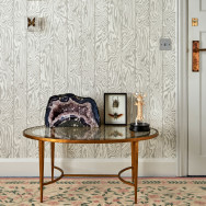 Cole and Son Zebrawood Wallpaper - Curio