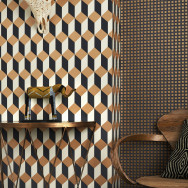 Cole and Son Delano Wallpaper - Geometric ll