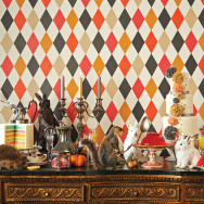 Cole and Son Punchinello Wallpaper - Whimsical