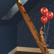Cole and Son Stars Wallpaper - Whimsical