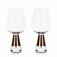 Tom Dixon Tank Wine Glasses x2 - Copper