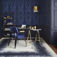 Cole and Son Pugin Palace Flock Wallpaper
