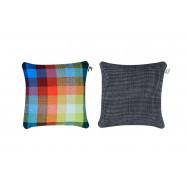 Simon Key Bertman Textile Design & Art - Chess & Dots cushion
