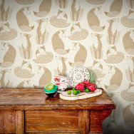 Feathr Day Dreaming Wallpaper by Teija Vartiainen