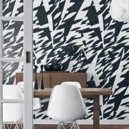 Borastapeter Delfinisk Rörelse Wallpaper