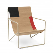 Ferm Living Desert Lounge Chair - Block