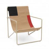 Ferm Living Desert Lounge Chair - Block-Cashmere