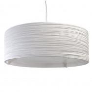 Graypants White Drum Pendant Lamp 36 inch