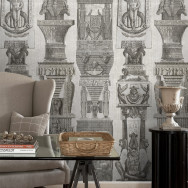 Mind The Gap Egyptian Columns Wallpaper