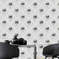Mind The Gap Female Illusion Wallpaper
