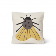 Ferm Living Forest Embroidered Cushion - Moth