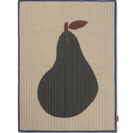 Ferm Living Pear Quilted Blanket