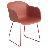 Muuto Fiber Armchair - Sled Base