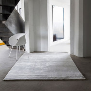 Massimo Bamboo Rug - Light Grey