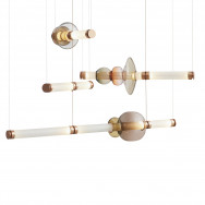 Gabriel Scott Luna Chandelier - Three Tier