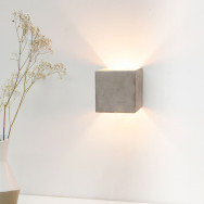 GANTlights B3 Wall Concrete Sconce Light
