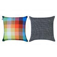 Simon Key Bertman Textile Design & Art - Chess & Dots cushion Cover - Large