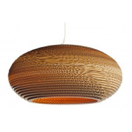 Graypants Scraplight Disc Pendant Lamp 24 inch