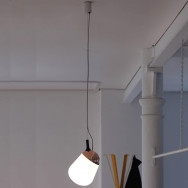 Vertigo Bird Hippo Suspension Lamp - Copper