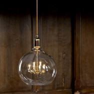 Mineheart King Edison Grande Pendant Lamp - Gold