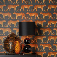 Cole and Son Leopard Walk Wallpaper