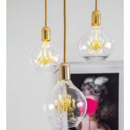 Mineheart King Edison Trio Pendant Lamp