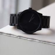 Leff Amsterdam Tube Watch S-Series black by Piet Hein Eek