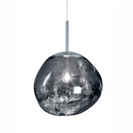 Tom Dixon Mini Melt Pendant Light - Chrome Silver