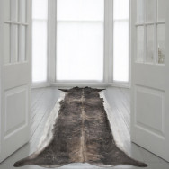 Mineheart Super Long Stretched Cowhide Rug