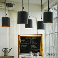 n-es.artdesign Bin Lavagna Pendant Light