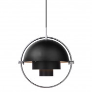 Gubi Multi-Lite Pendant Light - Chrome