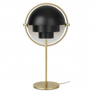 Gubi Multi Table Light - Brass