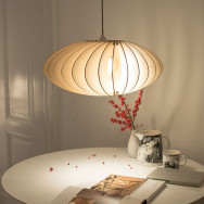 Iumi Nefi Wood Pendant Light