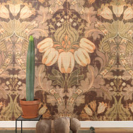 NLXL Lab Big Pattern Luther Wallpaper Mural by Mr. & Mrs. Vintage - 4 drops