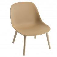 Muuto Fiber Lounge Chair - Wood Base