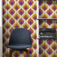 Mind The Gap Ottoman Pattern Wallpaper