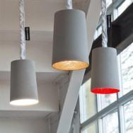 In-es.artdesign Paint Cemento Pendant Light