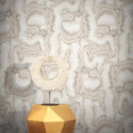 Feathr Wallpaper Pastel Powder Wallpaper by Teija Vartiainen