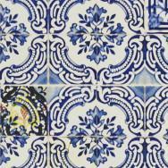 Christian Lacroix Patio Wallpaper - Cobalt