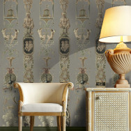 Mind The Gap Pilasters Wallpaper