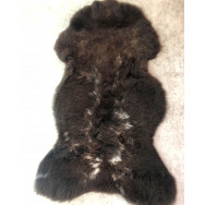 Natural Multi-coloured 'Rare Breed' Sheepskin - Dark-Rare11