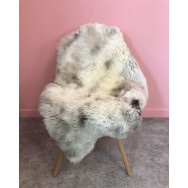 Natural Multi-coloured 'Rare Breed' Sheepskin - Light